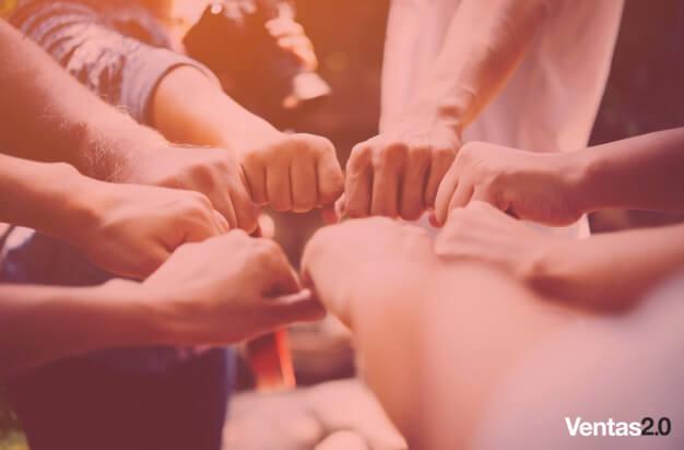 como crear un equipo de ventas unido
